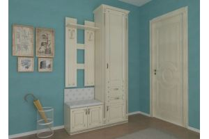 Прихожая Эпатаж А36 - Мебельная фабрика «Мебель Холдинг»