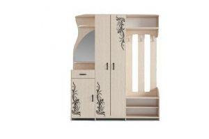 Прихожая Эврика Премиум (с рисунком) - Мебельная фабрика «Форс»