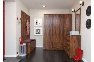 Прихожая ИНДИАНА ДУБ ШУТТЕР - Импортёр мебели «БРВ-Мебель (Black Red White)»