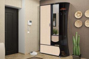 Прихожая с зеркалом Иннэс 1 2 - Мебельная фабрика «ДиВа мебель»