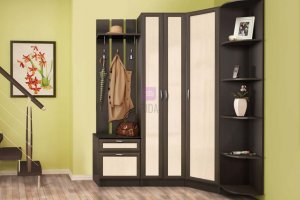 Прихожая угловая Иннэс 2 - Мебельная фабрика «ДиВа мебель»