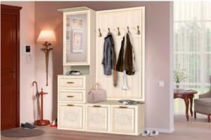 Прихожая классическая Аннета - Мебельная фабрика «Балтика мебель»