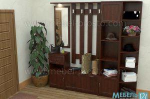 Прихожая - Машенька 1 - Мебельная фабрика «МЕБЕЛЬ ПРОСТО»
