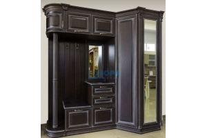 Прихожая массив бука - Мебельная фабрика «Бора-мебель»