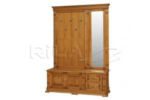 Прихожая массив Verdi 1 - Мебельная фабрика «Rila»