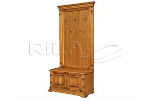 Прихожая массив Verdi 2 - Мебельная фабрика «Rila»
