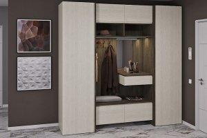 Прихожая мебель Джелла Франка 1 - Мебельная фабрика «Zetta»