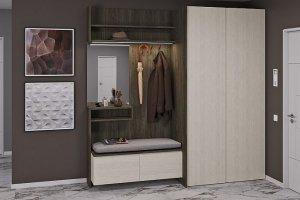 Прихожая мебель Джелла Франка 3 - Мебельная фабрика «Zetta»