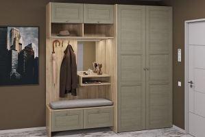 Прихожая мебель Сити Колор Франка 1 - Мебельная фабрика «Zetta»