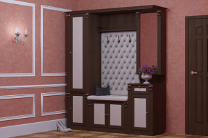 Прихожая Моцарт композиция 8 - Мебельная фабрика «PERFECT»