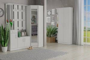 Прихожая модульная Модуль белый - Мебельная фабрика «Гайвамебель»
