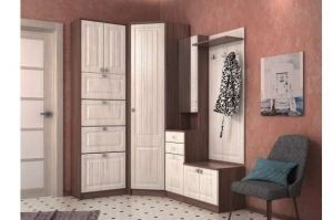 Прихожая модульная Бергамо-2 - Мебельная фабрика «БУРЭ»