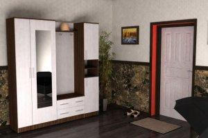 Прихожая модульная Комфорт 4 - Мебельная фабрика «Шадринская»