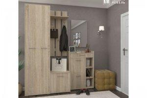 Прихожая модульная Лара дуб сонома - Мебельная фабрика «Кортекс-мебель»