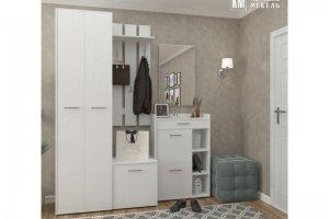 Прихожая модульная Лара белая - Мебельная фабрика «Кортекс-мебель»