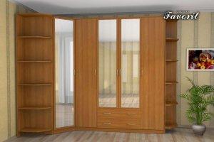 Угловой шкаф в прихожую  НКМ-1 - Мебельная фабрика «Фаворит»