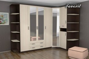 Угловой шкаф в прихожую НКМ-2 - Мебельная фабрика «Фаворит»