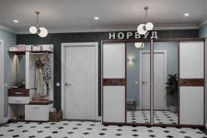 Прихожая Норвуд - Мебельная фабрика «Глазовская мебельная фабрика»