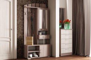 Прихожая ПР 5 с зеркалом - Мебельная фабрика «Ваша мебель»