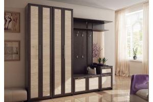 Прихожая прямая Аврора 2 - Мебельная фабрика «IRIS»