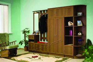 Прихожая прямая Лэйла - Мебельная фабрика «ДИЗАЙН МЕБЕЛЬ»