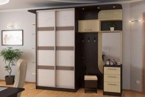 Прихожая прямая Шкаф-купе 7 - Мебельная фабрика «Алекс-Мебель»