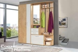 Прихожая с распашным шкафом Берта - Мебельная фабрика «Союз-мебель»