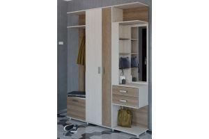 Прихожая с распашным шкафом БН 05 - Мебельная фабрика «Милайн»