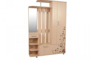 Прихожая с рисунком Барселона-2 - Мебельная фабрика «Евромебель»