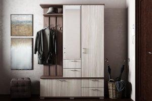 Прихожая с вешалкой ПР 3 - Мебельная фабрика «Ваша мебель»