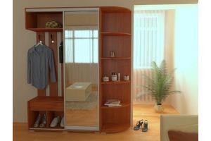 Прихожая с зеркалом 15 - Мебельная фабрика «Алекс-Мебель»