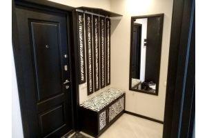 Прихожая с зеркалом и сиденьем Зебра - Мебельная фабрика «Красивый Дом»