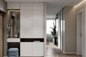 Прихожая с зеркалом Линии - Мебельная фабрика «Виктория»