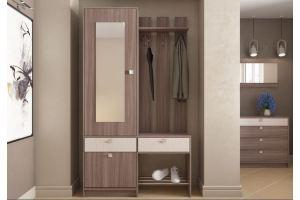 Прихожая с зеркалом ПР 7 Аврора - Мебельная фабрика «Ваша мебель»