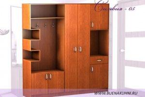 Прихожая Сильвия 05 - Мебельная фабрика «Buena»