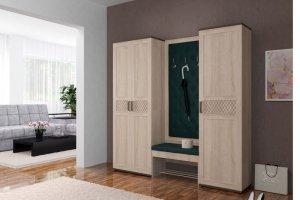 Прихожая со шкафом Стелла прямая - Мебельная фабрика «Регина»