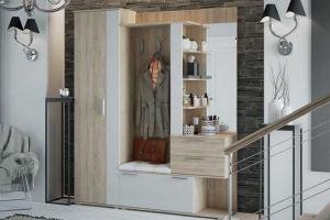 Прихожая светлая 3 - Мебельная фабрика «Фаворит»