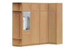 Прихожая угловая  БН 01 рамочный фасад - Мебельная фабрика «Милайн»