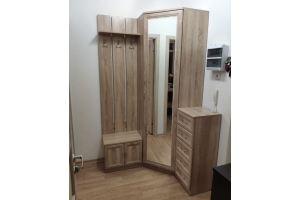 Прихожая угловая Дуб Сонома - Мебельная фабрика «МЕБЕЛов»