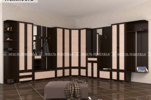 Прихожая угловая Нежность - Мебельная фабрика «Мебель Поволжья»