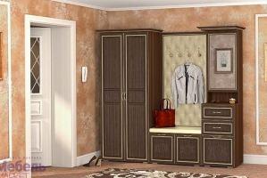 Прихожая Виктория орех - Мебельная фабрика «Мебель-Маркет»