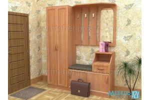 Прихожая - Юность (со шкафом) - Мебельная фабрика «МЕБЕЛЬ ПРОСТО»