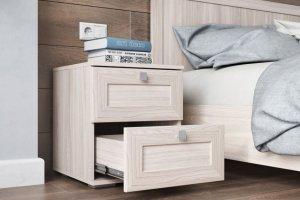 Прикроватная тумба ТП 24 Ривьера - Мебельная фабрика «Ваша мебель»