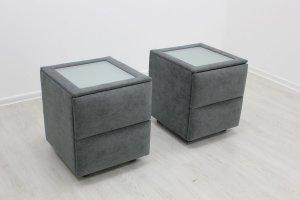 Прикроватная тумба в мягкой обивке - Мебельная фабрика «Darna-a»
