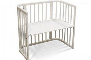 Приставная кроватка Белый КТП-3 - Мебельная фабрика «Феалта»