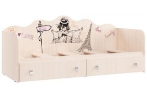 Пристенная кровать Париж КР 24 - Мебельная фабрика «Ваша мебель»