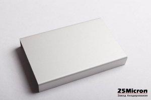 Профиль анодированный Серебро - Оптовый поставщик комплектующих «Завод анодирования 25 Микрон»