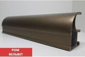 Профиль C-образный Браш Ром вельвет - Оптовый поставщик комплектующих «Купе Центр»