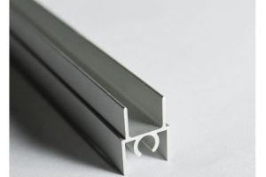 Профиль горизонтальный верхний - Оптовый поставщик комплектующих «Завод анодирования 25 Микрон»