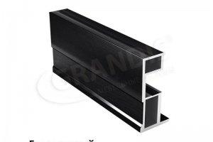 Профиль NEO лайт Браш черный - Оптовый поставщик комплектующих «Grandis»